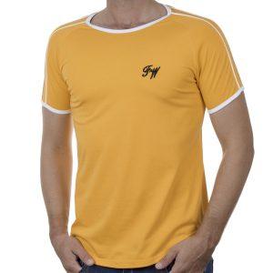 Κοντομάνικο Fashion T-Shirt FREE WAVE 21115 SS20 Πορτοκαλί