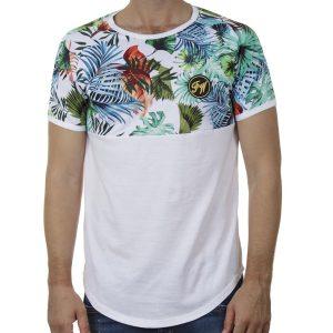 Κοντομάνικο Fashion T-Shirt FREE WAVE 21123 SS20 Λευκό