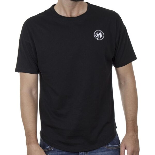 Κοντομάνικο Fashion T-Shirt FREE WAVE 21124 SS20 Μαύρο
