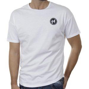 Κοντομάνικο Fashion T-Shirt FREE WAVE 21124 SS20 Λευκό