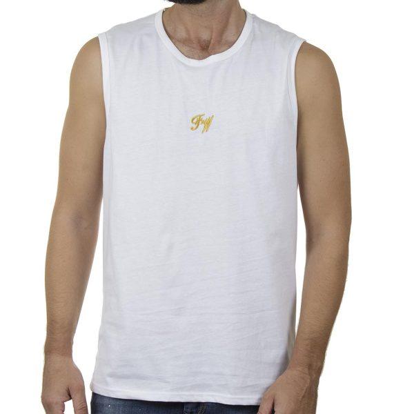 Αμάνικο Μπλουζάκι FREE WAVE 21127 SS20 Λευκό
