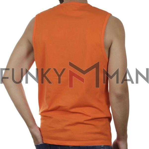 Αμάνικο Μπλουζάκι FREE WAVE 21128 SS20 Πορτοκαλί