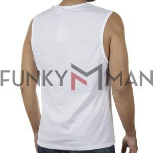 Αμάνικο Μπλουζάκι FREE WAVE 21128 SS20 Λευκό