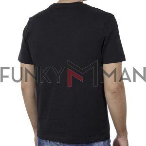 Κοντομάνικο T-Shirt SPLENDID 43-206-015 SS20 Μαύρο