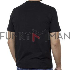 Κοντομάνικο T-Shirt SPLENDID 43-206-016 SS20 Μαύρο