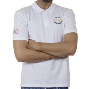 Κοντομάνικο Fashion Polo SPLENDID 43-206-019 SS20 Λευκό