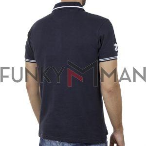 Κοντομάνικο Fashion Polo SPLENDID 43-206-028 SS20 Navy