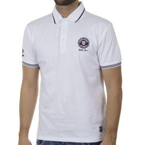 Κοντομάνικο Fashion Polo SPLENDID 43-206-028 SS20 Λευκό