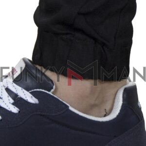 Τζιν Παντελόνι με Λάστιχα BLADE BL3 FW20 Μαύρο