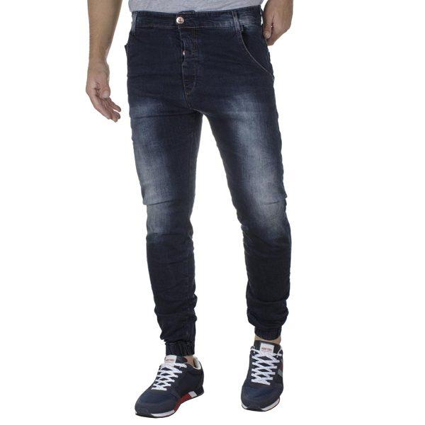 Τζιν Παντελόνι με Λάστιχα BLADE BL3F FW20 σκούρο Μπλε