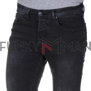 Τζιν Παντελόνι Slim BLADE BL4 FW20 Μαύρο