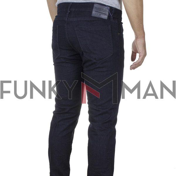 Τζιν Παντελόνι Slim BLADE BL9B FW20 σκούρο Μπλε