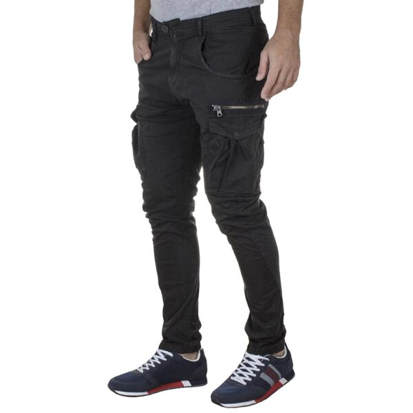 Cargo Παντελόνι Back2jeans M12 FW20 ARMY Ανθρακί