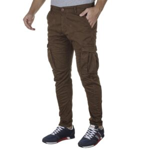 Cargo Παντελόνι Back2jeans M23 FW20 ARMY Camel