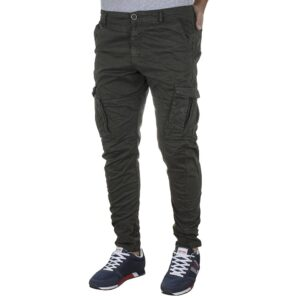 Cargo Παντελόνι Back2jeans M23 FW20 ARMY Χακί