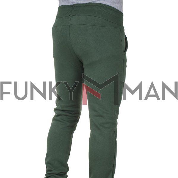 Παντελόνι Φόρμας Slim Cotton4all 21-162 Πράσινο