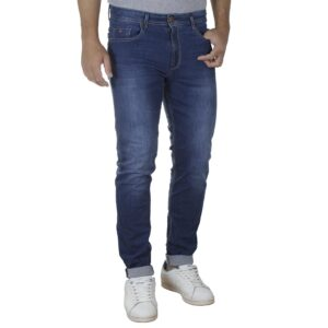 Τζιν Παντελόνι Slim Fit DAMAGED R30D SS20 Μπλε
