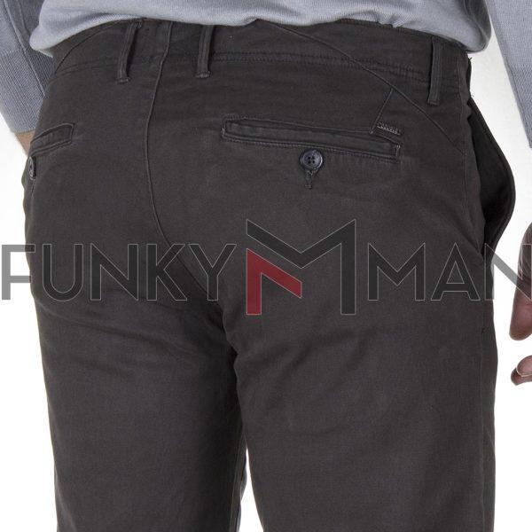 Παντελόνι Chinos DOUBLE CP-229 FW20 Ανθρακί