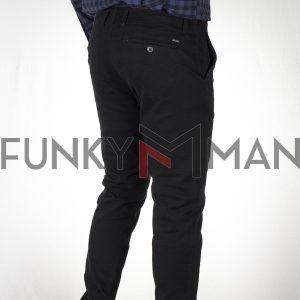 Παντελόνι Chinos DOUBLE CP-229 FW20 Μαύρο