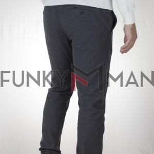 Παντελόνι Special Yarn Chinos DOUBLE CP-231 FW20 Ανθρακί