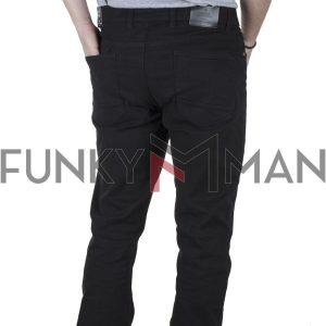 Πεντάτσεπο Casual Παντελόνι DOUBLE FP-231 FW20 Μαύρο
