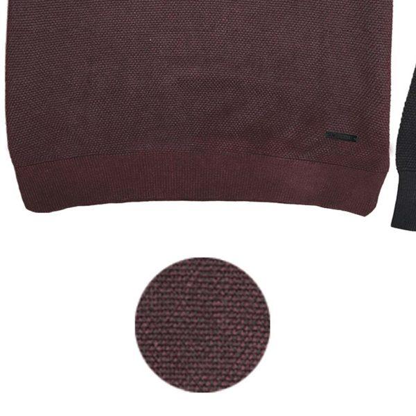 Πλεκτό Special Yarn Sweater DOUBLE KNIT-41 FW20 Μπορντό