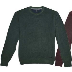 Πλεκτό Special Yarn Sweater DOUBLE KNIT-41 FW20 Πράσινο