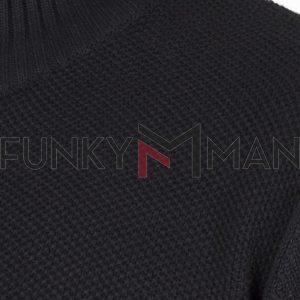 Πουλόβερ Special Yarn DOUBLE KNIT-45 FW20 Μαύρο