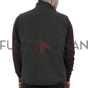 Αμάνικο Fleece Vest DOUBLE MFT-5 FW20 Χακί