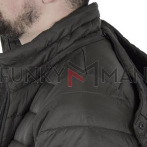 Hooded Puffer Jacket DOUBLE MJK-149 FW20 Χακί