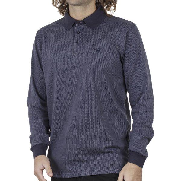 Μπλούζα Polo Jersey DOUBLE PS-253 FW20 ανοιχτό Μπλε