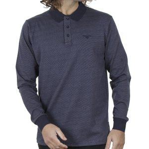 Μπλούζα Polo Jersey DOUBLE PS-254 FW20 Μπλε