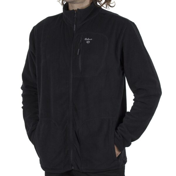 Fleece Jacket DOUBLE REBASE RMFT-4 FW20 Μαύρο