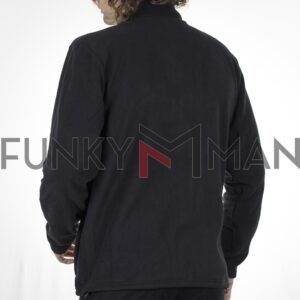 Fleece Jacket DOUBLE REBASE RMFT-4 FW20 Μαύρο