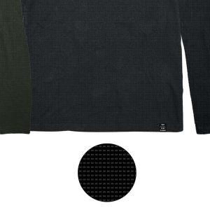 Μπλούζα Jersey DOUBLE TS-143 FW20 Μαύρο