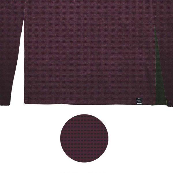 Μπλούζα Jersey DOUBLE TS-143 FW20 Μπορντό