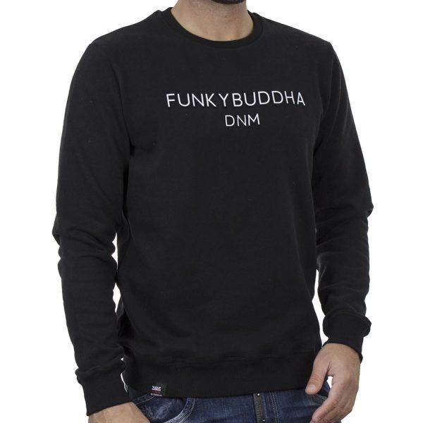 Φούτερ FUNKY BUDDHA FBM002-004-06 Μαύρο