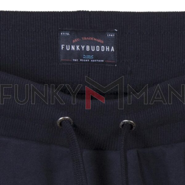 Παντελόνι Φόρμας FUNKY BUDDHA FBM002-031-02 Navy