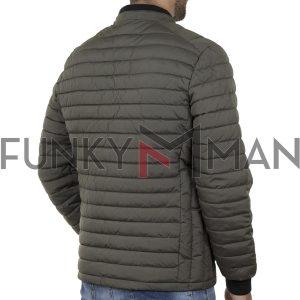 Puffer Jacket Garage55 GAM002-203-01 Χακί