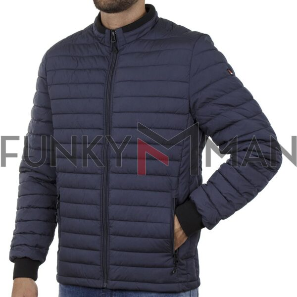 Puffer Jacket Garage55 GAM002-203-01 Navy