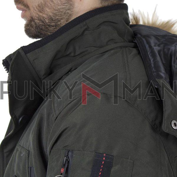 Parka Jacket Garage55 GAM002-209-01 Χακί