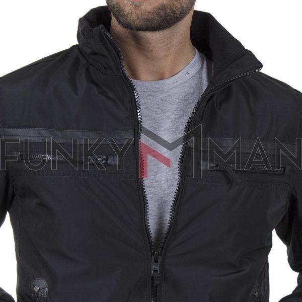 Jacket Garage55 GAM002-213-01 Μαύρο