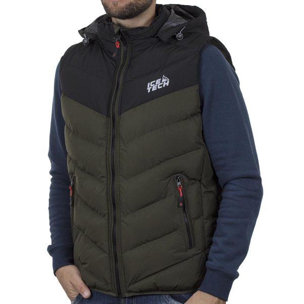 Winter Vest ICE TECH G825 Olive