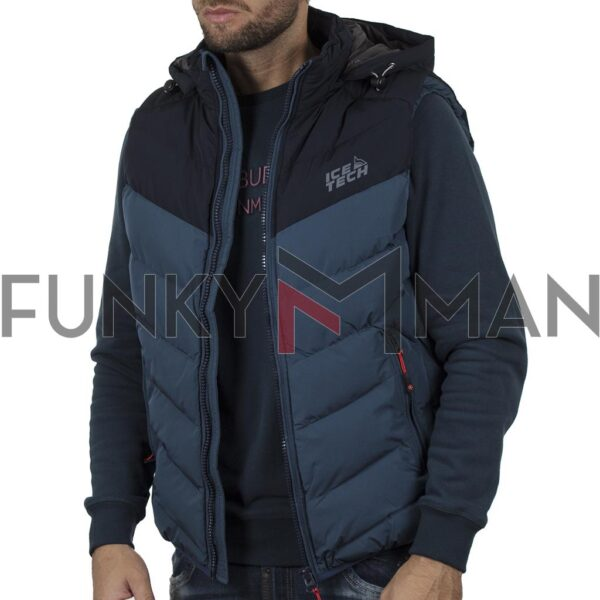 Winter Vest ICE TECH G825 Petrol