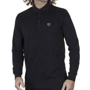 Μπλούζα Polo Jersey REBASE RPS-252 FW20 Μαύρο