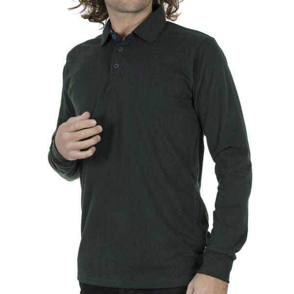Μπλούζα Polo Jersey REBASE RPS-252 FW20 Pesto