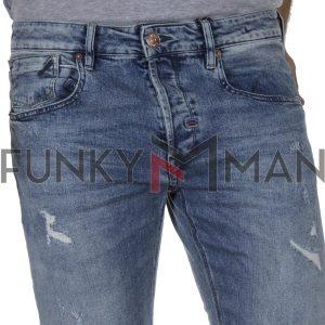 Τζιν Παντελόνι Slim Fit REDSPOT BONO L SS20 ανοιχτό Μπλε
