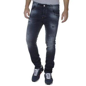 Τζιν Παντελόνι Slim Fit SHAFT Jeans 5720 FW20 σκούρο Μπλε