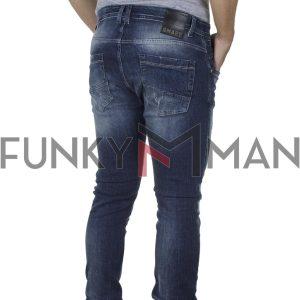 Τζιν Παντελόνι Slim Fit SHAFT Jeans 5722 FW20 Μπλε