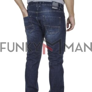 Τζιν Παντελόνι Regular SHAFT Jeans 8516 FW20 Μπλε
